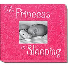 The Princess Is Sleeping Picture Frame