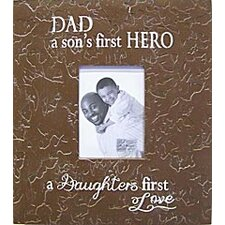 Dad a Son's First Hero... Child Frame