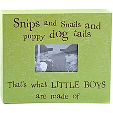 Snips And Snails And Puppy Dog Tails... Child Frame