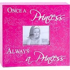 Once a Princess Always a Princess Child Frame