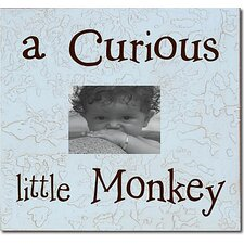 A Curious little Monkey Child Frame