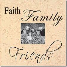 Faith, Family, Friends Memory Box
