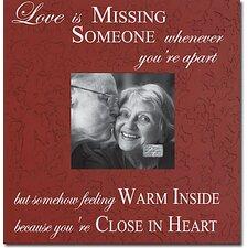 Love Is Missing... Memory Box