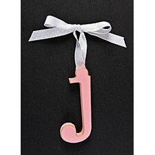Letter J Hanging Initial