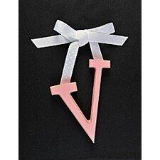 Letter V Hanging Initial