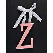 Letter Z Hanging Initial
