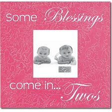 Some Blessings Come In...Twos Picture Frame