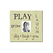 Play * Laugh * Grow Child Frame