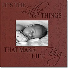 It's the Little Things That Make Life Big Home Frame