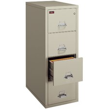 Fireproof 4-Drawer  Letter File