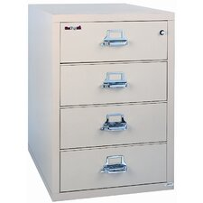 "31"" W Four-Drawer Lateral File"