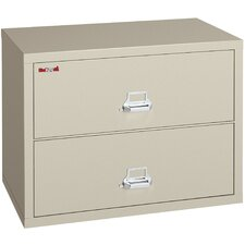"<strong>Fire King</strong> 38"" W Two-Drawer Lateral File"