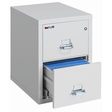 "<strong>Fire King</strong> 25"" D Two-Drawer Vertical Legal File"