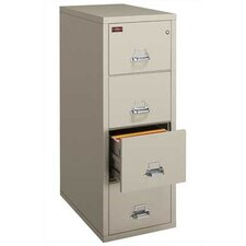 <strong>Fire King</strong> 2-Hour Rated Four-Drawer Vertical Legal File