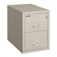 2-Hour Rated Two-Drawer Vertical Letter File