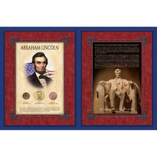 Famous Speech Series Abraham Lincoln Wall Framed Memorabilia