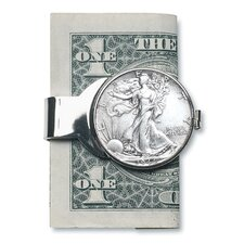 Walking Liberty Half Dollar Money Clip