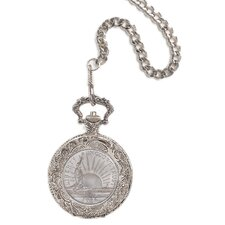 Liberty Commemorative Coin Pocket Watch