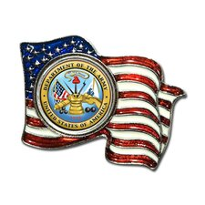 <strong>American Coin Treasures</strong> Armed Forces Colorized Quarter Flag Pin