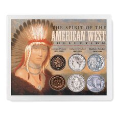 Spirit of the American West Coin Display Case