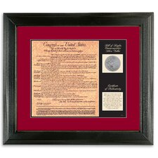 Birth of a Nation Bill of Rights Wall Frame