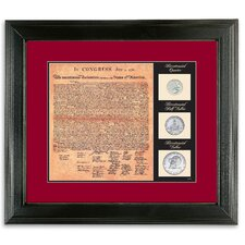 Birth of a Nation Declaration of Independence Wall Framed Memorabilia