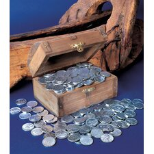 1943 Lincoln Steel Pennies Treasure Chest