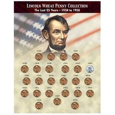 The Last 25 Years of Lincoln Wheat Penny Coin Sleeve