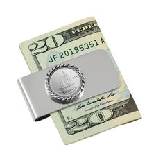 <strong>American Coin Treasures</strong> Canada Ship Coin Money Clip