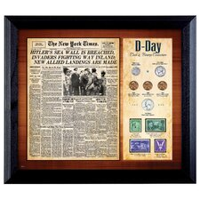 New York Times D Day Framed Memorabilia