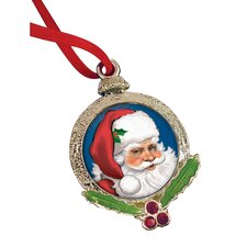 Santa Claus Coin Ornament