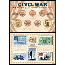 <strong>American Coin Treasures</strong> Civil War Coin and Stamp Collection