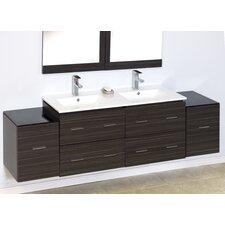 "76"" Wall Mount Vanity Base"