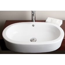 Teno Deck Mount Vessel Bathroom Sink