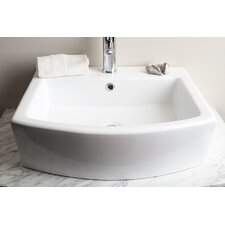Single Hole Elongated Bathroom Sink