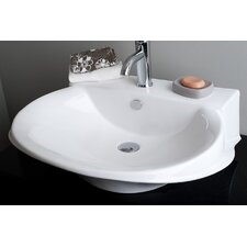 Victorian Single Hole Vessel Bathroom Sink