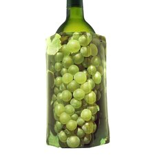 White Grapes Design Rapid Ice Wine Cooler