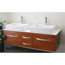 "Brielle 59.75"" Bathroom Vanity Set"