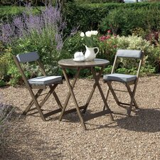 Raffles 3 Pieces Round Bistro Dining Set