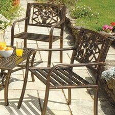 Coalbrookdale Garden Armchair (Set of 2)