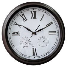 Weather Station Radio Controlled Wall Clock
