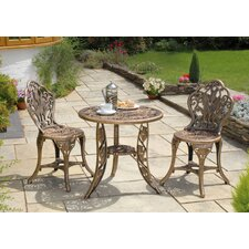 Tulip 3 Piece Patio Set