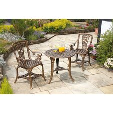 "3 Piece ""Rose"" Armchair Patio Set"