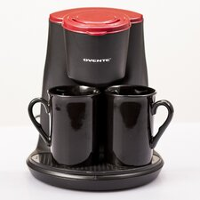 4 Piece 2-Serving Coffee Maker Set