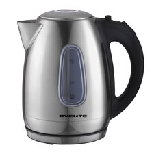 <strong>Ovente</strong> 1.79- qt. Cord-Free Brushed Electric Kettle