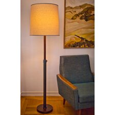 Oliver Drum 1 Light Floor Lamp