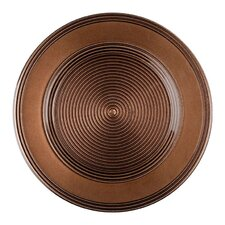 """13"""" Rope Plain Glass Charger Plate"""