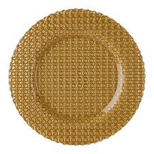 """13"""" Carmen Glass Charger Plate"""