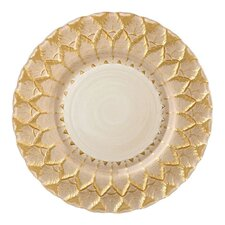 """13"""" Florence Glass Charger Plate"""