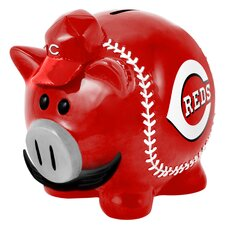 MLB Large Piggy Bank Figurine